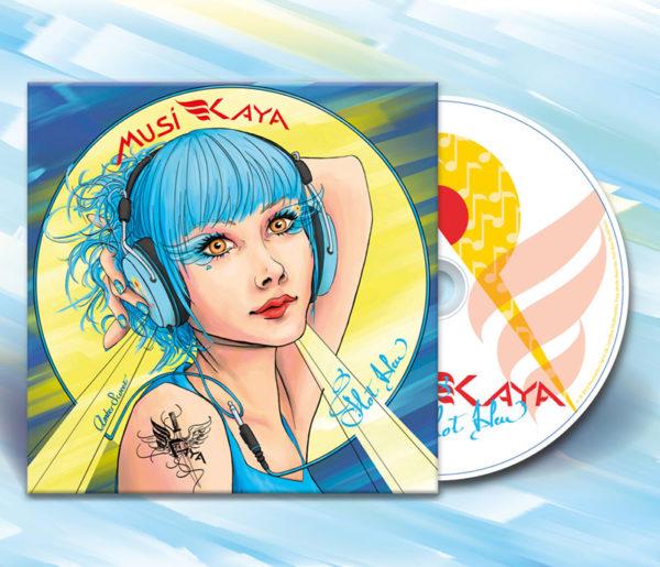 Album cd MusiKaya Flot Bleu