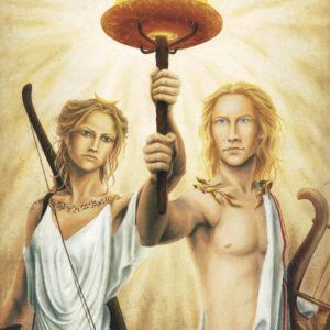 poster Artémis & Apollon