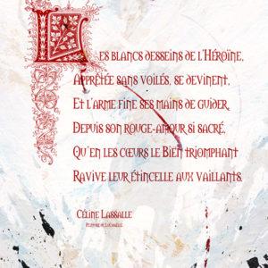 Calligraphie Blancs desseins