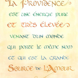 calligraphie Providence