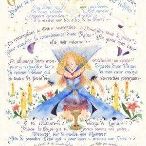 Calligraphie Princesse des Etoiles