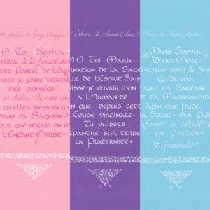 Lot 3 calligraphies
