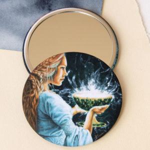 Miroir Porteuse du Graal