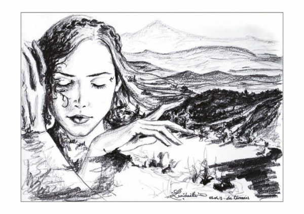 dessin fée Cévennes