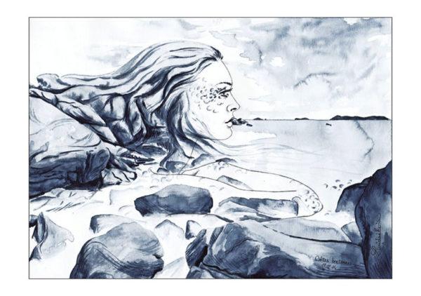 dessin fée Bretagne