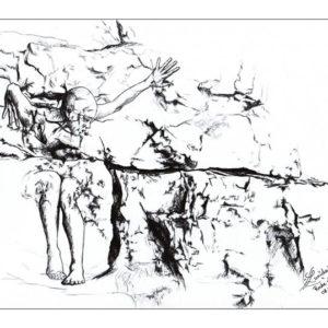 dessin fée roche
