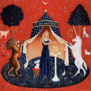 Carte Dame à la Licorne 6