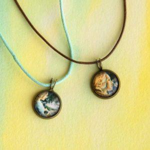Mini collier Repanse de Schoye pour enfant